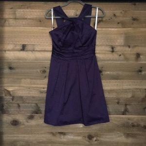 Plum formal dress